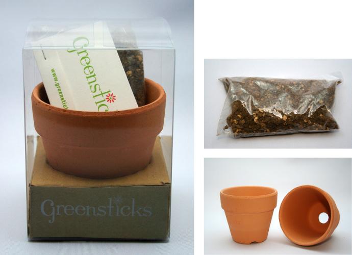 グリーンスティック 素焼きセット(GS-SET1)